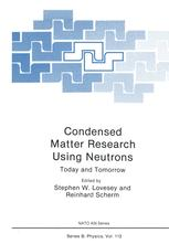 Condensed Matter Research Using Neutrons