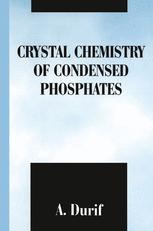 Crystal Chemistry of Condensed Phosphates