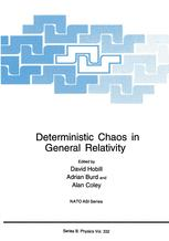 Deterministic Chaos in General Relativity