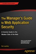 The Manager's Guide to Web Application Security: