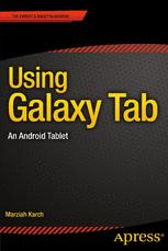 Using Galaxy Tab