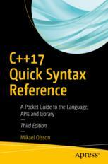 C++17 Quick Syntax Reference