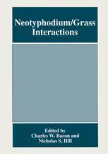 Neotyphodium/Grass Interactions