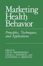 Marketing Health Behavior