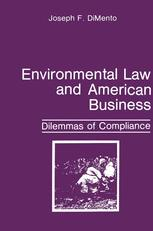 Environmental Law and American Business