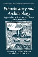 Ethnohistory and Archaeology