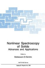 Nonlinear Spectroscopy of Solids