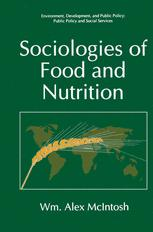 Sociologies of Food and Nutrition