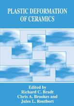 Plastic Deformation of Ceramics