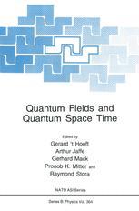 Quantum Fields and Quantum Space Time