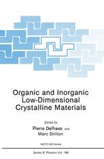 Organic and Inorganic Low-Dimensional Crystalline Materials