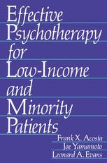 Effective Psychotherapy for Low-Income and Minority Patients