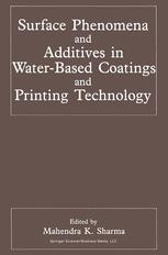 Surface Phenomena and Additives in Water-Based Coatings and Printing Technology
