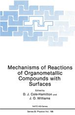 Mechanisms of Reactions of Organometallic Compounds with Surfaces