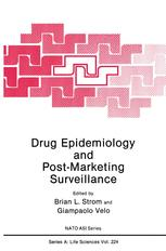 Drug Epidemiology and Post-Marketing Surveillance