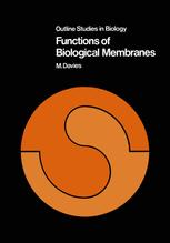 Functions of Biological Membranes