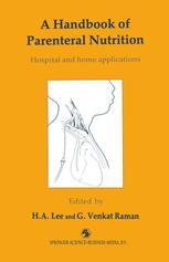 A Handbook of Parenteral Nutrition