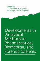 Developments in Analytical Methods in Pharmaceutical, Biomedical, and Forensic Sciences