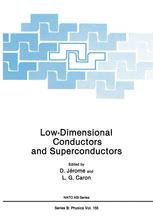 Low-Dimensional Conductors and Superconductors
