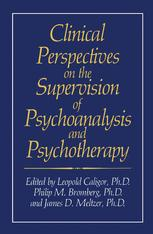 Clinical Perspectives on the Supervision of Psychoanalysis and Psychotherapy