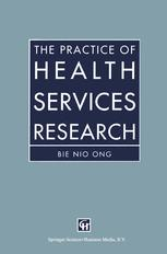The Practice of Health Services Research