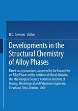 Developments in the Structural Chemistry of Alloy Phases