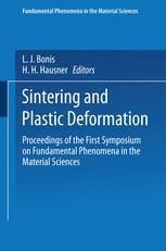 Sintering and Plastic Deformation