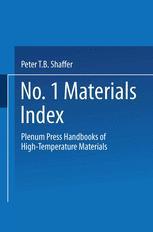 Plenum Press Handbooks of High-Temperature Materials