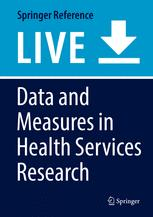 Data and Measures in Health Services Research