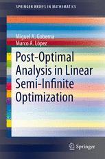 Post-Optimal Analysis in Linear Semi-Infinite Optimization