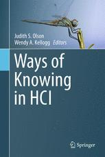 Ways of Knowing in HCI
