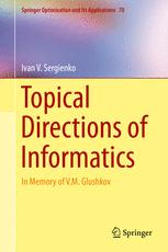 Topical Directions of Informatics