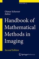 Handbook of Mathematical Methods in Imaging
