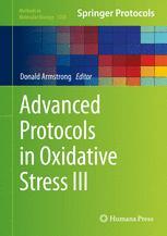 Advanced Protocols in Oxidative Stress III