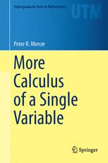 More Calculus of a Single Variable