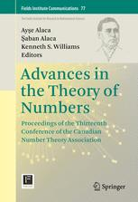 Advances in the Theory of Numbers