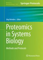 Proteomics in Systems Biology