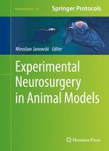 Experimental Neurosurgery in Animal Models