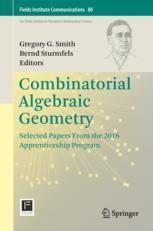 Combinatorial Algebraic Geometry