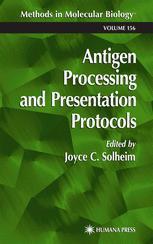 Antigen Processing and Presentation Protocols