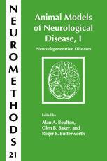 Animal Models of Neurological Disease, I