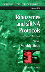 Ribozymes and siRNA Protocols