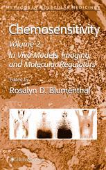 Chemosensitivity: Volume II