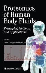 Proteomics of Human Body Fluids