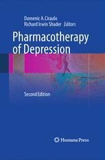 Pharmacotherapy of Depression