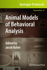 Animal Models of Behavioral Analysis