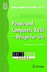 People and Computers XVIII — Design for Life