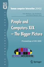People and Computers XIX — The Bigger Picture