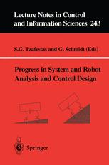 Progress in system and robot analysis and control design