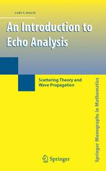 An Introduction to Echo Analysis